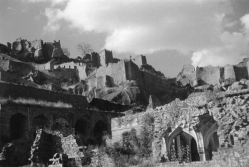 A View Of Golconda Fort