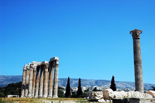 Temple of Zeus. Athens