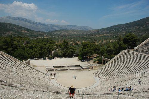 Epidaurus. The Theatre